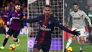 Forbes 2019: Das sind die 10 Topverdiener im Fußball