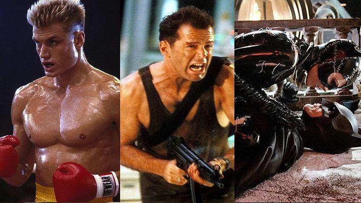 Rocky 4, Stirb langsam, Batman Rückkehr - Foto: MGM/Twentieth Century Fox/Warner Bros.