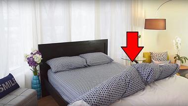 Dieses Bett regelt die Temperatur und macht sich selbst