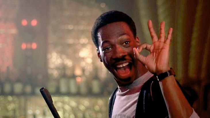 "Eddie Murphy in ""Beverly Hills Cop"""