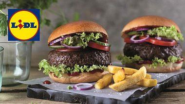 Ab sofort: Bei LIDL startet die Burger-Revolution