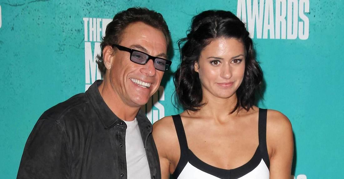 Bianca Van Damme mit Vater Jean-Claude