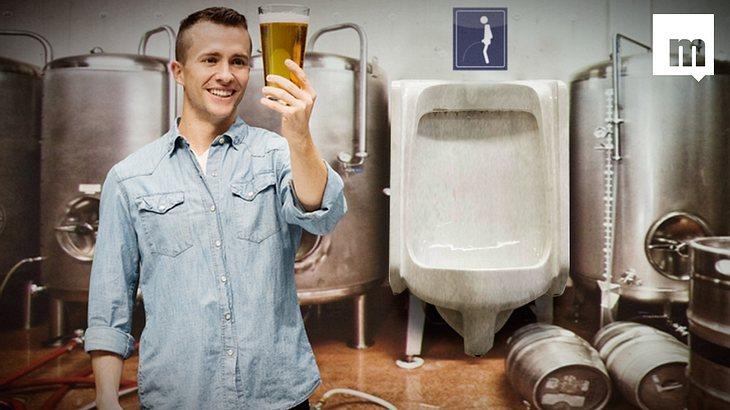Pinkeln dir dein Bier