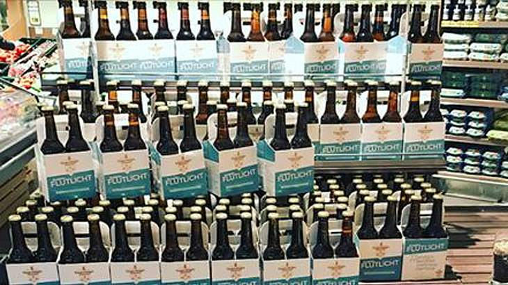 Die Ravensberger Brauerei sucht für sein Bielefelder Flutlicht freiwillige Trinker