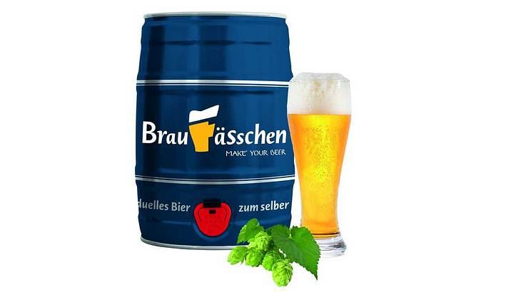 Braufässchen - Bierbrauset zum selber Brauen