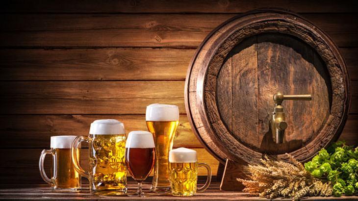 Biergläser - Bierglas - Bierkrug - Bier - Pilsglas