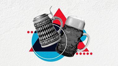 Bierkrüge - Foto: iStock / filmfoto; iStock / wakila