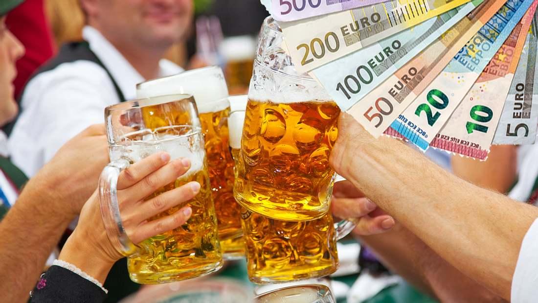 Die (Bier-)Preise werden immer teurer
