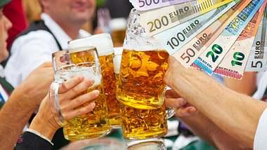 Preishammer beim Oktoberfest: So teuer ist die Maß Bier 2017