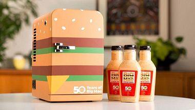 Zur legendären BicMac-Soße gibts auch einen BigMac-Kühlschrank - Foto: McDonalds