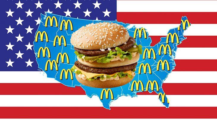 Der Big Mac - eine amerikanische Ikone
