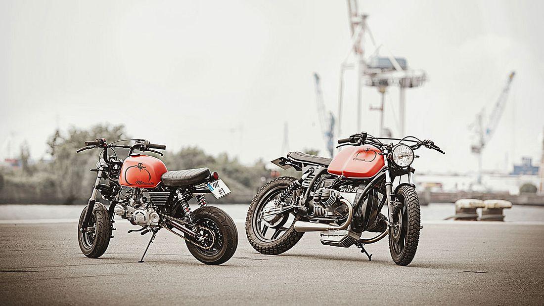 Motomato: Einzigartige Motorräder aus Hamburg