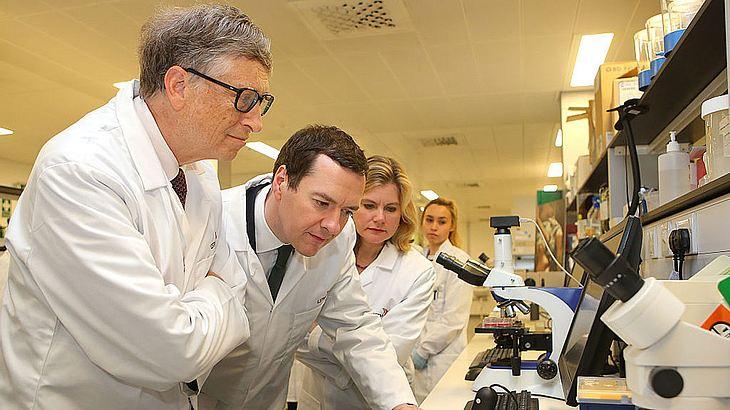 Bill Gates engagiert sich in der medizinischen Forschung