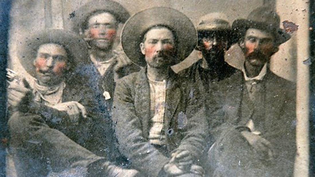 Auf diesem Foto ist Billy the Kid zu sehen