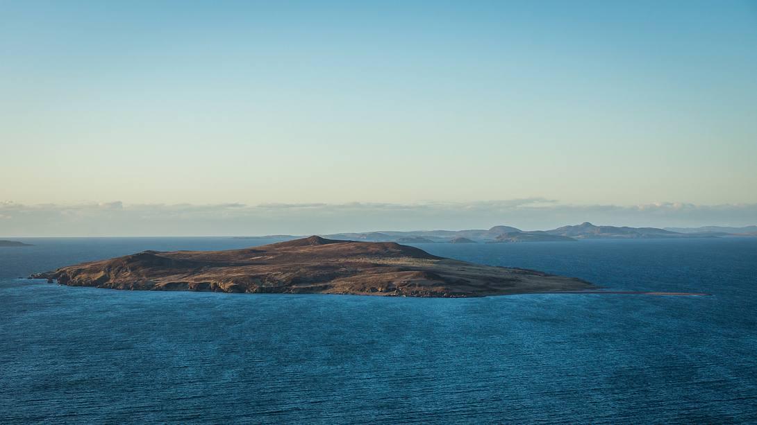 Blick auf Gruinard Island - Foto: iStock / Colin_Hunter