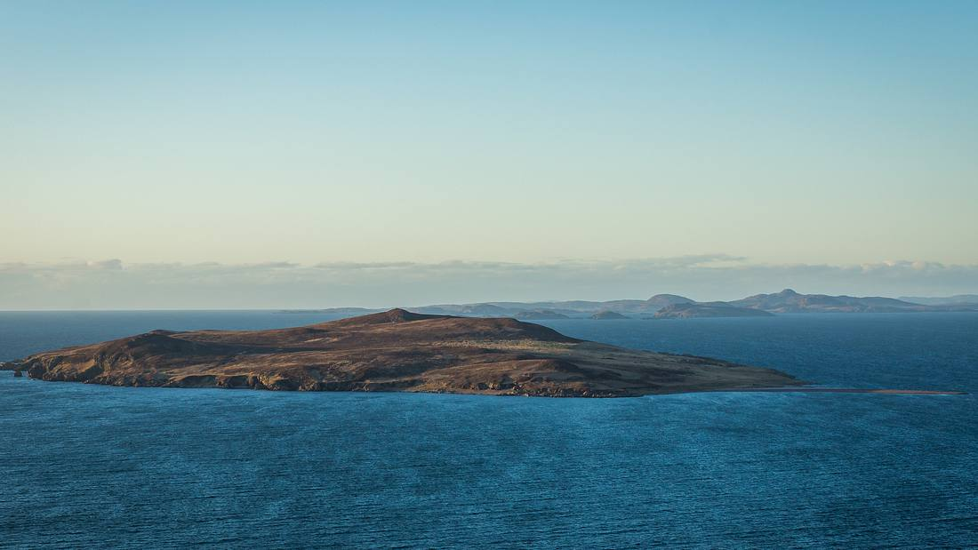 Blick auf Gruinard Island