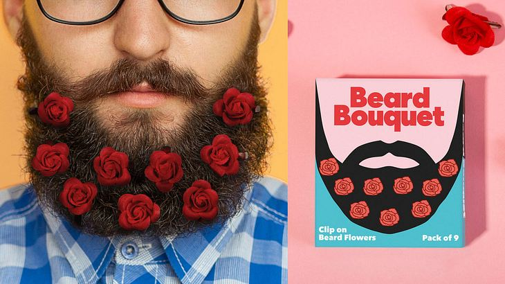 Blumen fürs Bart
