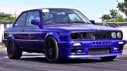 1240 PS: BMW 3er zerstört Lambo Huracán in Drag Race