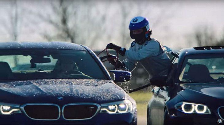 BMW stellt mit dem M5 einen neuen Drift-Weltrekord auf