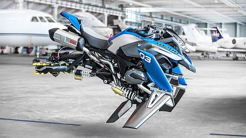 Hover Bike - Foto: BMW