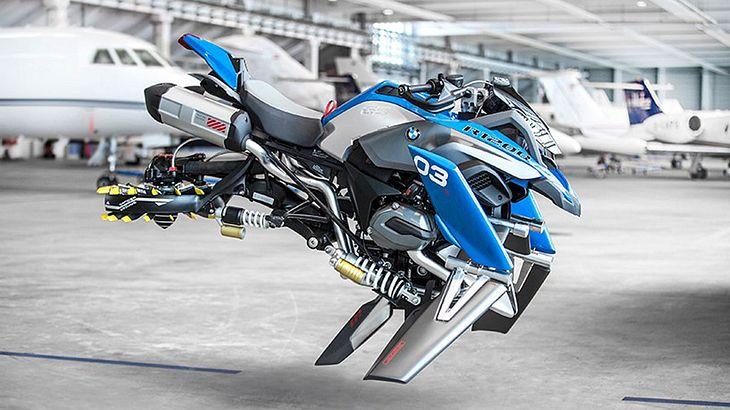 Hover Bike: BMW & Lego Technic