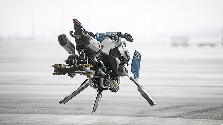 Design-Studie: Hover Bike von BMW und Lego