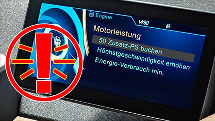Mehr PS per App: BMW will zusätzliche Power per Bezahlfunktion