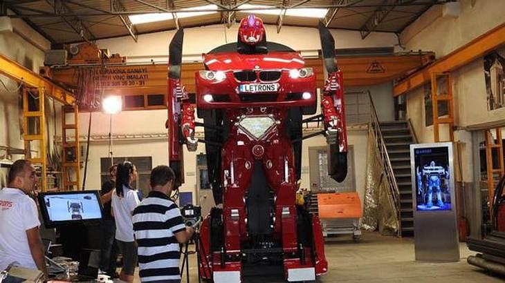 Die Ingenieure von Letrons haben einen BMW-Transformer gebaut