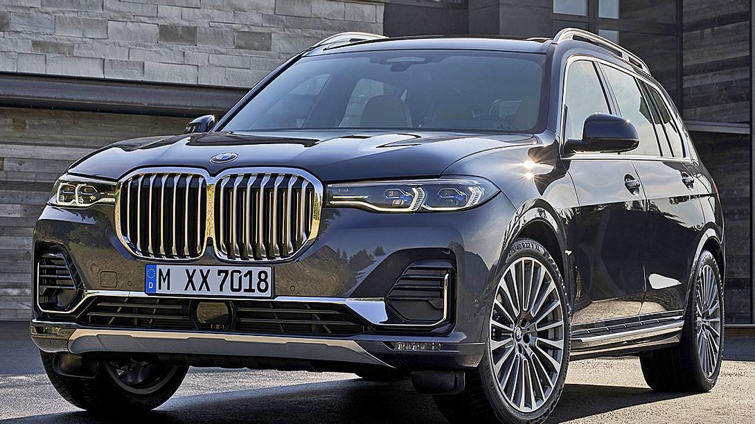 Größtes deutsches SUV: BMW X7 - Foto: BMW