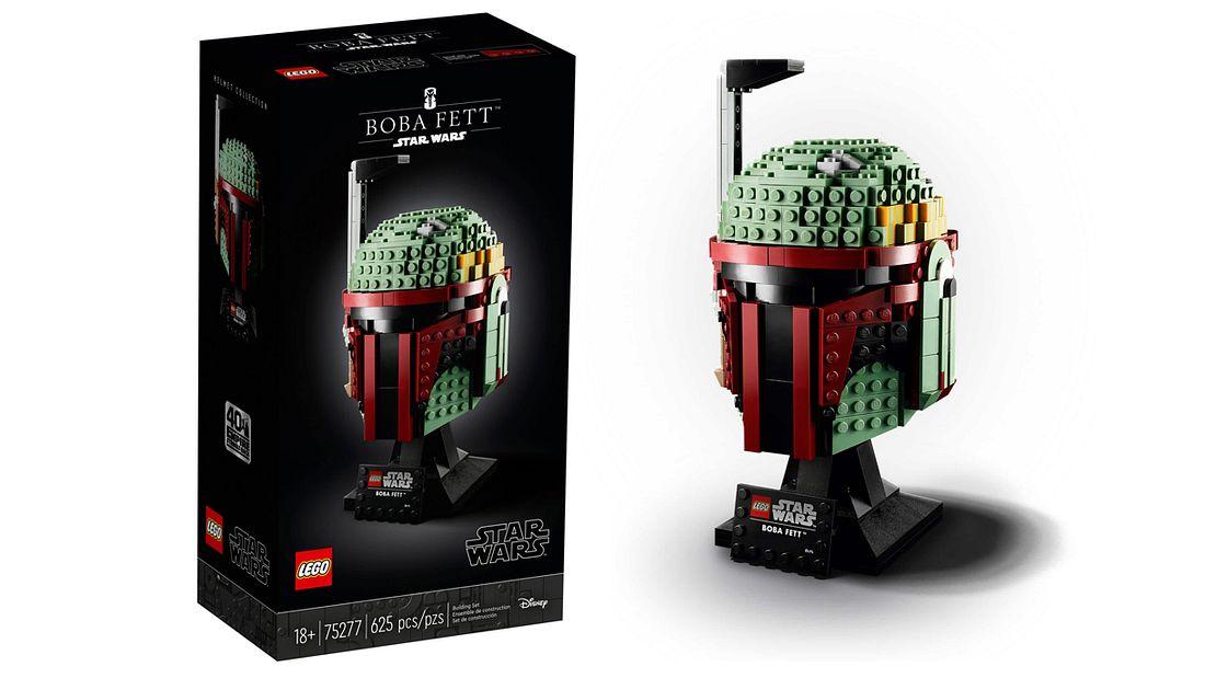 Boba Fett-Lego-Büste