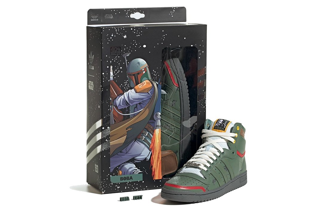 Boba Fett Schuh von Adidas