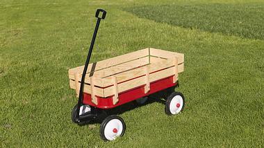 Bollerwagen Holz - Foto: iStock/Arthurpreston