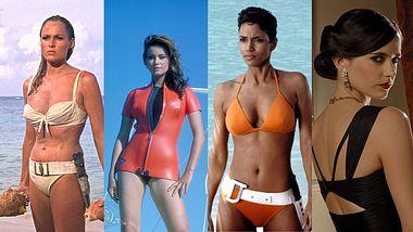 Die heißesten Bond-Girls aus über 50 Jahren James Bond