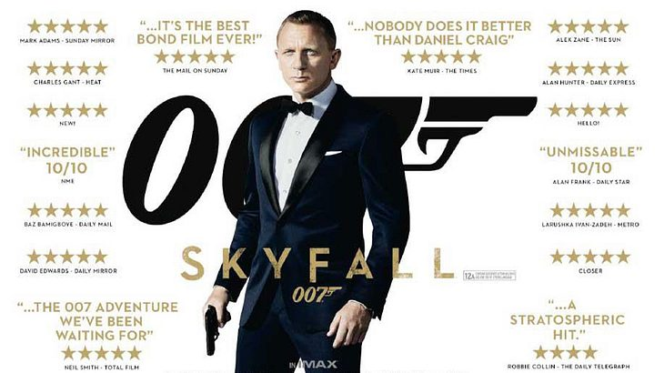 James Bond. Skyfall (2012)
