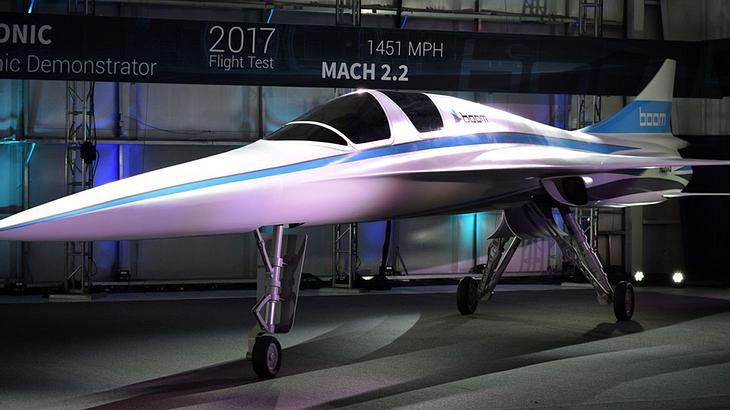 XB-1: Dieser Überschall-Passagier-Jet von Boom Supersonic soll Concorde-Nachfolger werden