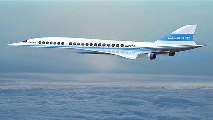 Milliardär Richard Branson stellt Überschallflieger vor: Boom Supersonic soll 2017 den ersten Testflug meistern - Foto: Boom Technology