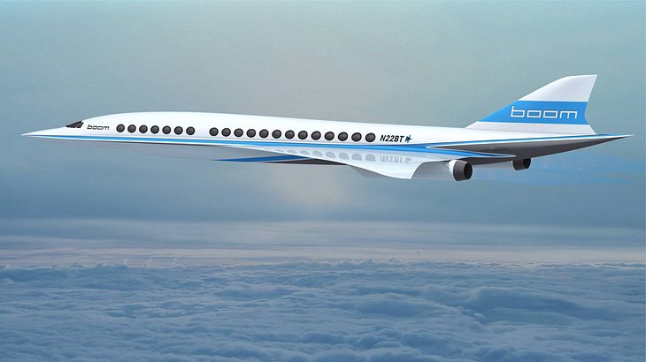 Milliardär Richard Branson stellt Überschallflieger vor: Boom Supersonic soll 2017 den ersten Testflug meistern
