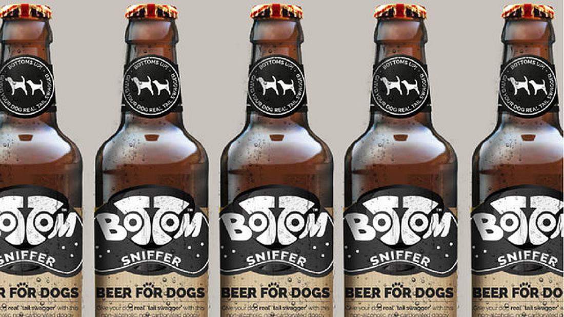 Bottom Sniffer ist ein spezielles Bier für Hunde