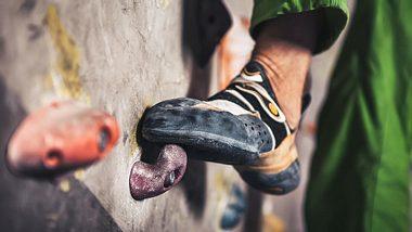 Boulderschuhe Herren Bouldern Boulderschuh Kaufen - Foto: iStock/takoburito