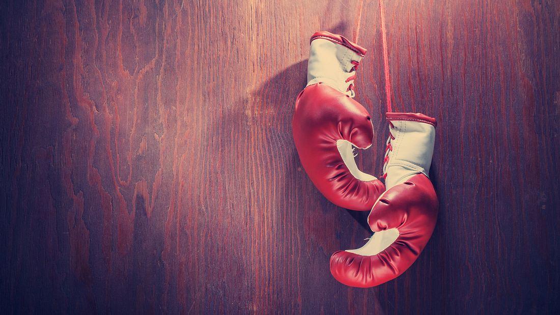 Boxhandschuhe müssen richtig sitzen