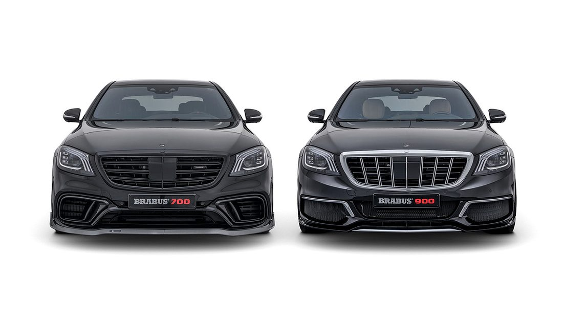 Brabus-Tuning: Mercedes S 63 4MATIC und Mercedes-Maybach S 650