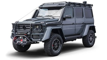 Brabus Adventure 4x4: G-Klasse als Offroad-Monster