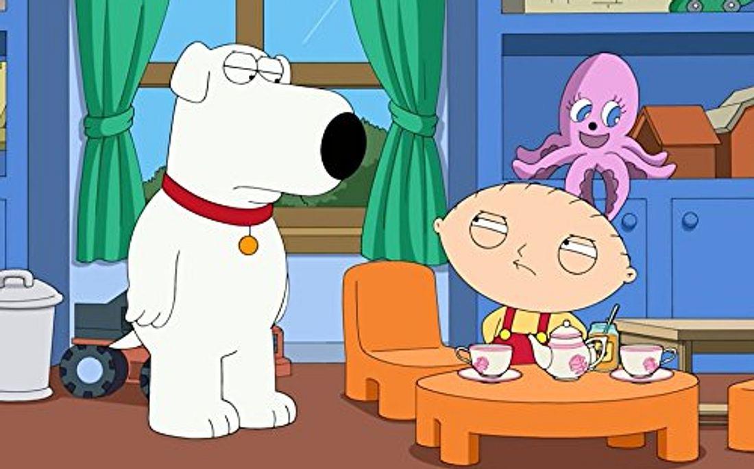 Brain und Stewie aus Family Guy