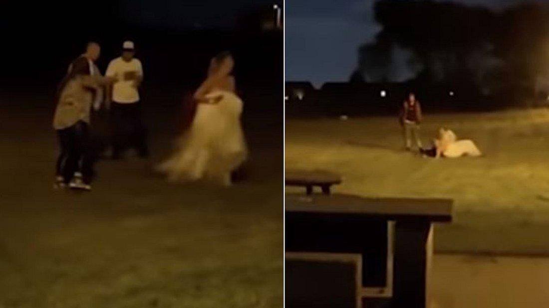 Schlägerei auf Hochzeit