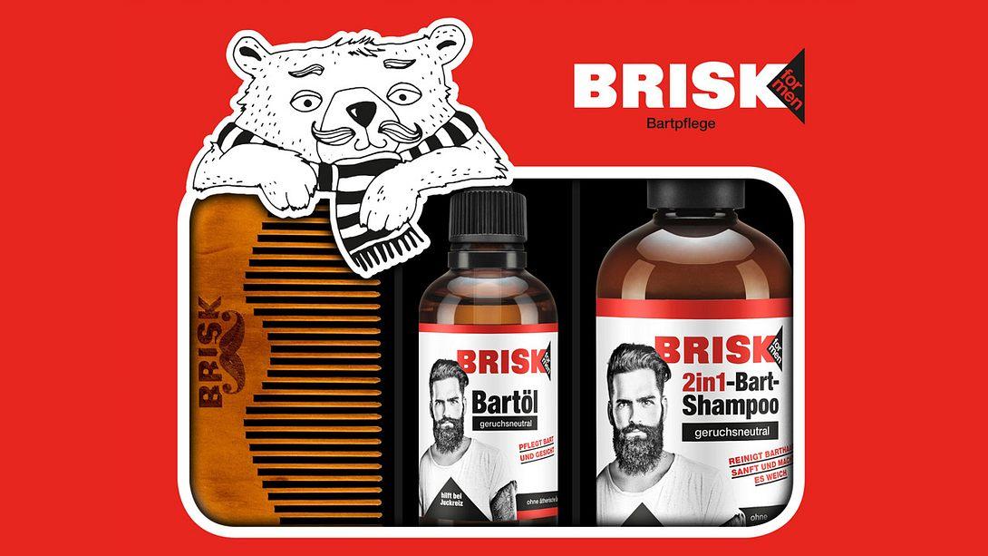 Für alle Bärte: Das Bartpflege Geschenkset