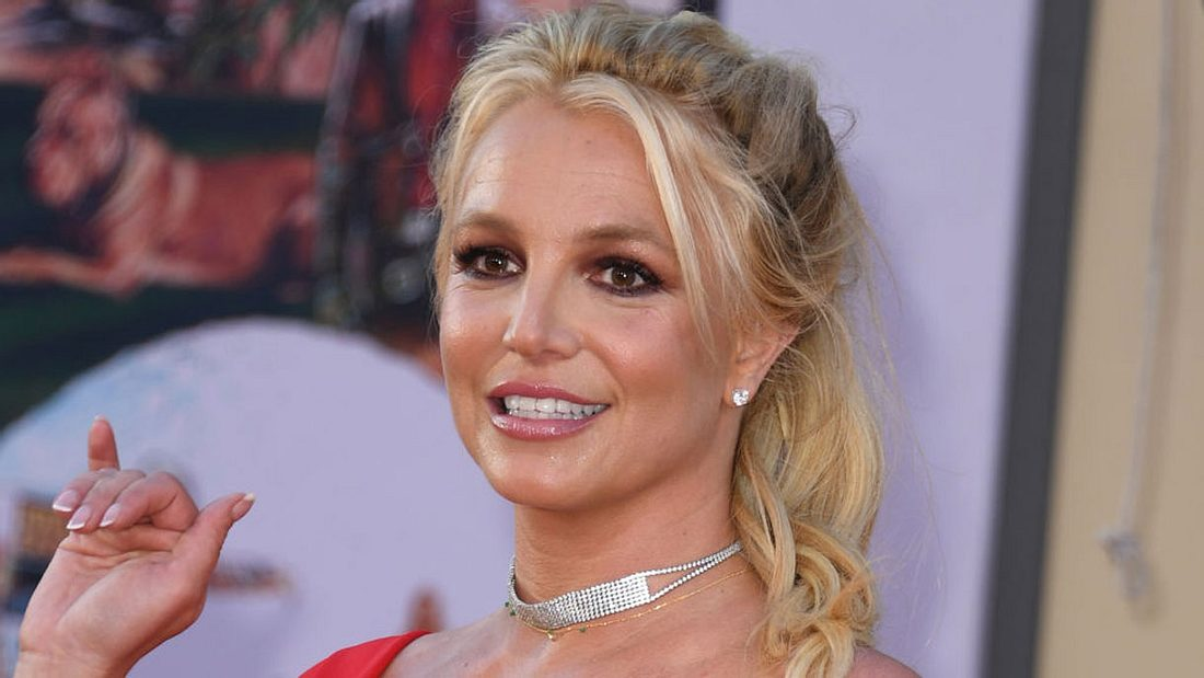 Britney Spears ist gut in Form
