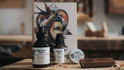 Bartpflege-Set von Brooklyn Soap - Foto: Brooklyn Soap Company