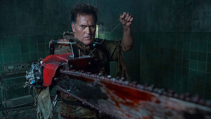"Bruce Campbell in ""Ash vs Evil Dead"""