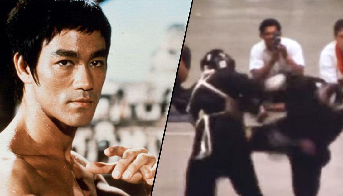 Ein Video von Bruce Lees einzigem gefilmten MMA-Kampf ist aufgetaucht