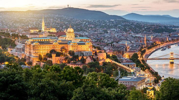 Budapest bei Dämmerung